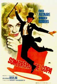 Top Hat - 11 x 17 Movie Poster - Spanish Style C