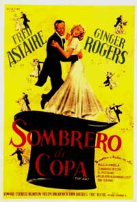 Top Hat - 11 x 17 Movie Poster - Spanish Style E