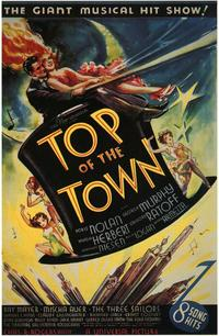 Top of the Town - 27 x 40 Movie Poster - Style A