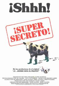 Top Secret! - 11 x 17 Movie Poster - Spanish Style A