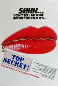 Top Secret! - 11 x 17 Movie Poster - Style B