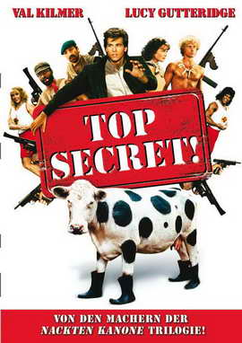 Top Secret! - 27 x 40 Movie Poster - German Style A