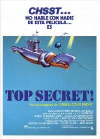 Top Secret! - 27 x 40 Movie Poster - Spanish Style A