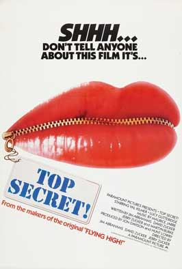 Top Secret! - 27 x 40 Movie Poster - Style C
