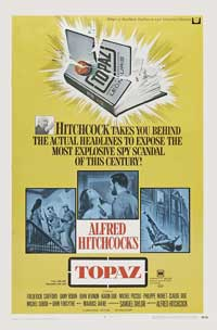 Topaz - 11 x 17 Movie Poster - Style C