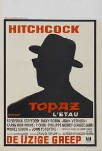 Topaz - 11 x 17 Movie Poster - Belgian Style A