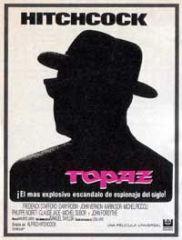 Topaz - 11 x 17 Movie Poster - Spanish Style A
