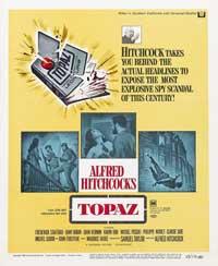 Topaz - 11 x 17 Movie Poster - Style E
