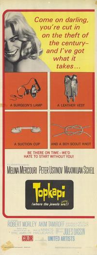 Topkapi - 14 x 36 Movie Poster - Insert Style A