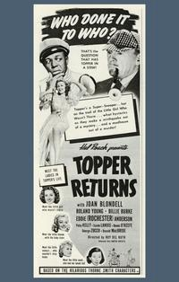 Topper Returns - 11 x 17 Movie Poster - Style A
