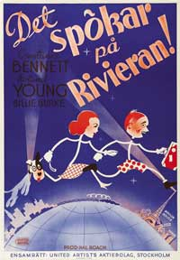 Topper Takes a Trip - 27 x 40 Movie Poster - Swedish Style A