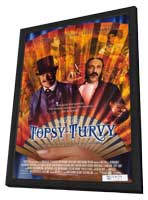 Topsy-Turvy - 11 x 17 Movie Poster - Style A - in Deluxe Wood Frame