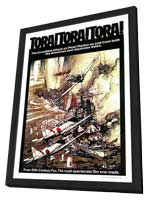 Tora! Tora! Tora! - 27 x 40 Movie Poster - Style A - in Deluxe Wood Frame