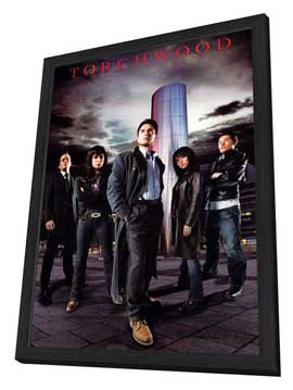 Torchwood - 11 x 17 TV Poster - Style D - in Deluxe Wood Frame