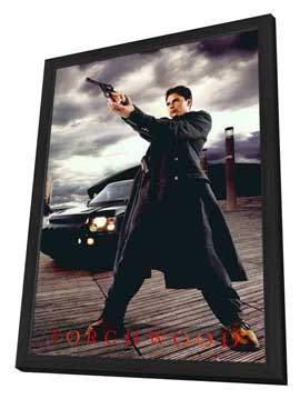 Torchwood - 27 x 40 TV Poster - Style B - in Deluxe Wood Frame