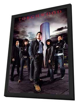 Torchwood - 27 x 40 TV Poster - Style D - in Deluxe Wood Frame