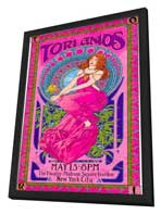Tori Amos - 11 x 17 Music Poster - Style B - in Deluxe Wood Frame