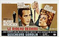 Torn Curtain - 27 x 40 Movie Poster - Belgian Style A