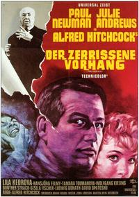 Torn Curtain - 11 x 17 Movie Poster - German Style A