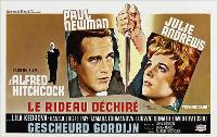 Torn Curtain - 11 x 17 Movie Poster - Belgian Style A