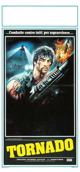 Tornado - 13 x 28 Movie Poster - Italian Style A