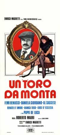 Toro da monta, Un - 13 x 28 Movie Poster - Italian Style A