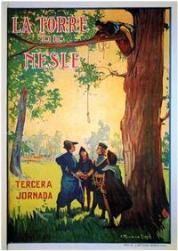 Torre De Nesle, La - 11 x 17 Movie Poster - Spanish Style A