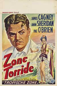 Torrid Zone - 11 x 17 Movie Poster - Belgian Style A