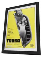 Torso - 11 x 17 Movie Poster - Style A - in Deluxe Wood Frame