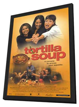 Tortilla Soup - 11 x 17 Movie Poster - Style A - in Deluxe Wood Frame