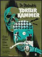 Torture Garden - 11 x 17 Movie Poster - Danish Style A