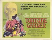 Torture Garden - 22 x 28 Movie Poster - Half Sheet Style A