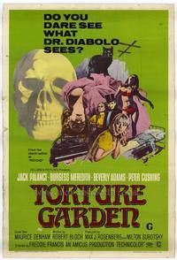 Torture Garden - 27 x 40 Movie Poster - Style A