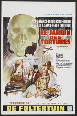 Torture Garden - 11 x 17 Movie Poster - Belgian Style A
