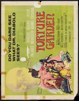 Torture Garden - 22 x 28 Movie Poster - Half Sheet Style B