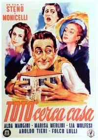 Tot� Looks for an Apartment - 11 x 17 Movie Poster - Italian Style A