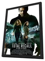 Total Recall - 27 x 40 Movie Poster - Style B - in Deluxe Wood Frame