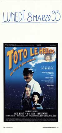 Toto le Heros - 13 x 28 Movie Poster - Italian Style A