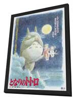 Totoro (My Neighbor) - 27 x 40 Movie Poster - Japanese Style D - in Deluxe Wood Frame
