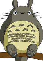 Totoro (My Neighbor) - 11 x 17 Movie Poster - Style F