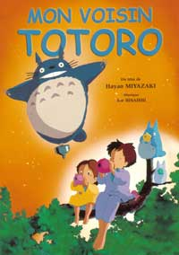 Totoro (My Neighbor) - 11 x 17 Movie Poster - French Style A