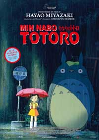 Totoro (My Neighbor) - 27 x 40 Movie Poster - Norwegian Style A