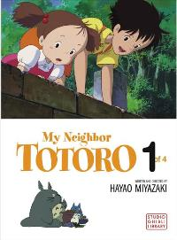 Totoro (My Neighbor) - 27 x 40 Movie Poster - Style D