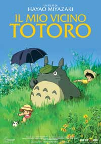 Totoro (My Neighbor) - 11 x 17 Movie Poster - Italian Style A