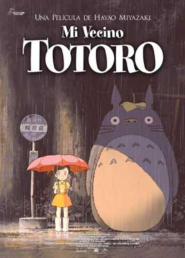 Totoro (My Neighbor) - 11 x 17 Movie Poster - Spanish Style A