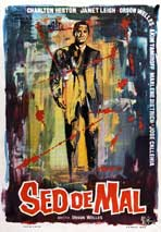 Touch of Evil - 27 x 40 Movie Poster - Spanish Style A