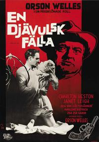 Touch of Evil - 27 x 40 Movie Poster - Swedish Style M