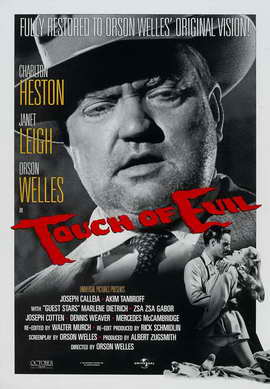 Touch of Evil - 27 x 40 Movie Poster - Style C