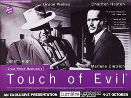 Touch of Evil - 27 x 40 Movie Poster - UK Style A