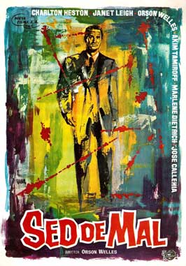 Touch of Evil - 11 x 17 Movie Poster - Spanish Style A
